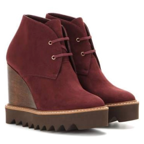 Stella McCartney Vegan Suede Platform Ankle Boots buy cheap exclusive free shipping popular buy cheap get authentic original for sale factory outlet sale online QCr0lQCeC0